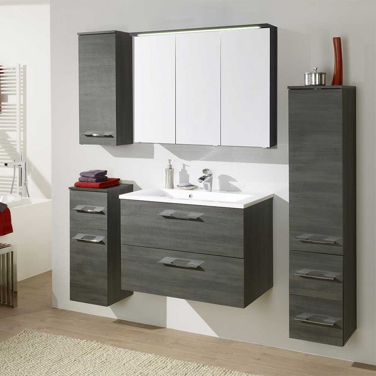 Badmbel Set Ectria In Graphit Grau Pharao24de within sizing 1000 X 1000