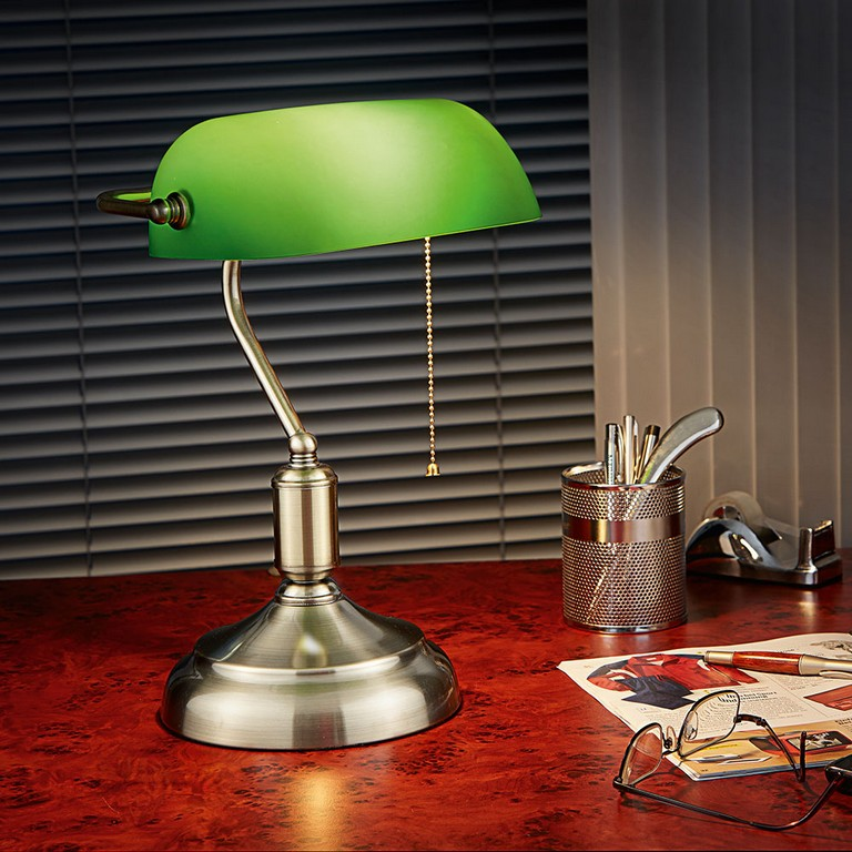 Bankiers Lampe Gnstig Bei Eurotops Bestellen with measurements 1000 X 1000