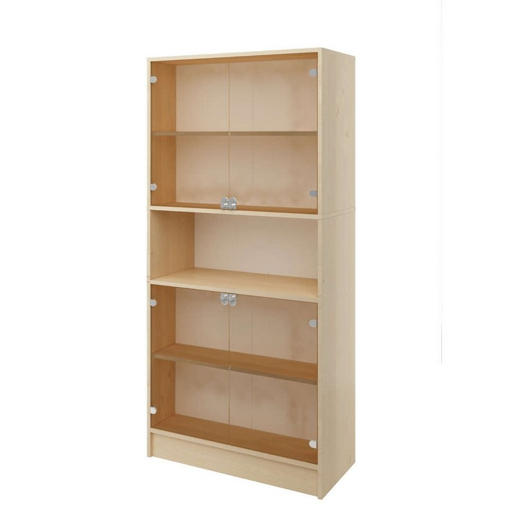 Kita Hamburg Lehrerzimmer Schrank 90b 40t 190h 4 Glastren throughout sizing 1000 X 1000