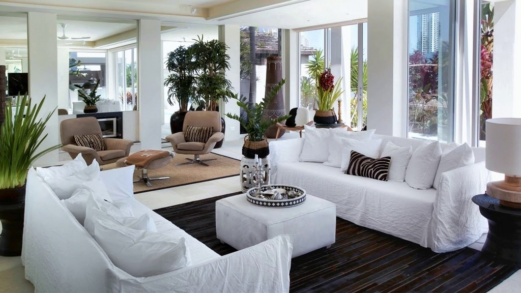 Living Room Furniture Placement Ideas Two Sofas Facing Each Other regarding proportions 1280 X 720