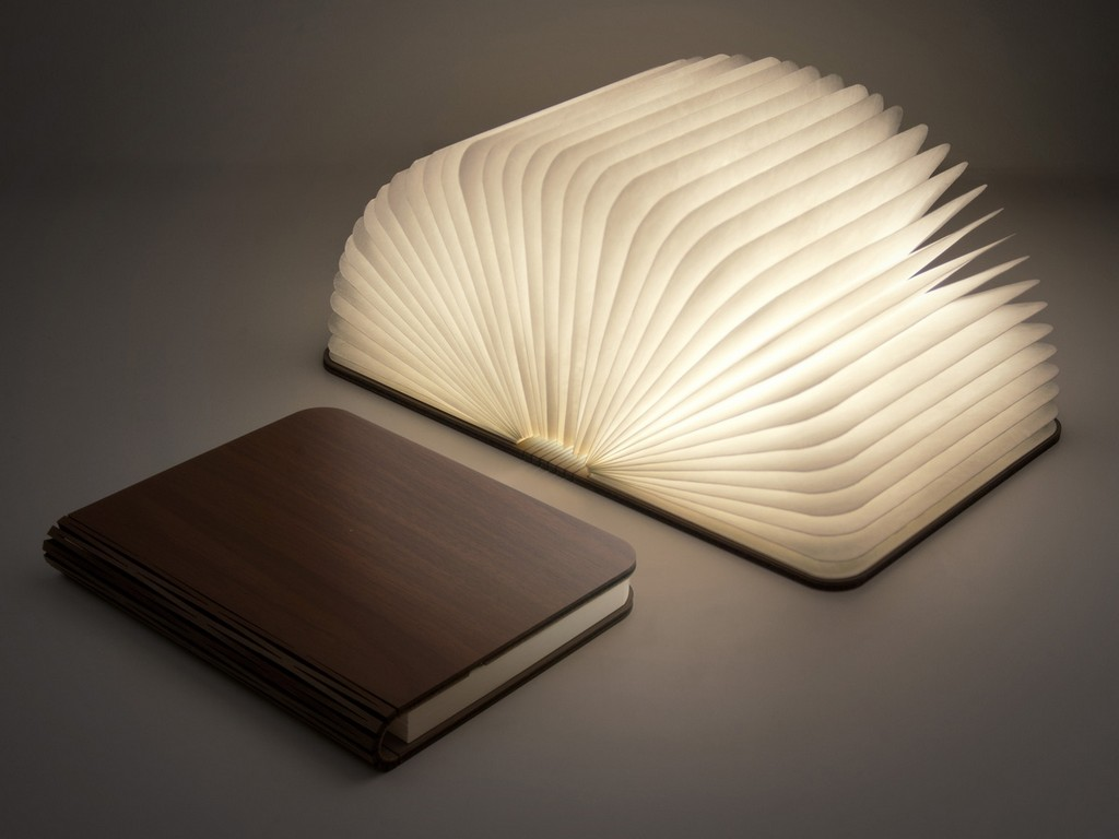 Mood Book Lamp Faltbare Led Buch Lampe Coolstuffde with sizing 1200 X 900
