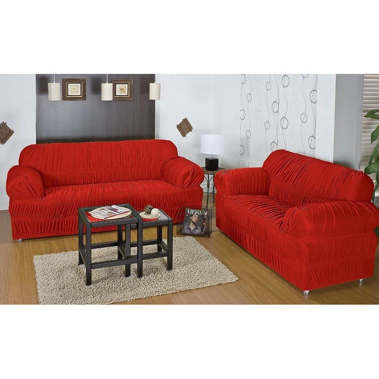 Sofa De 02 E 03 Lugares Capa Sof Malha Gel V Rias Cores R 136 18 pertaining to size 1000 X 1000
