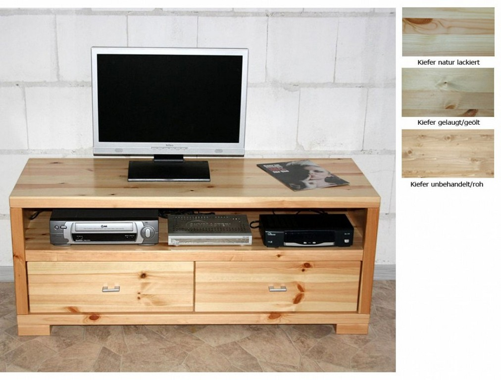 tv mbel holz massiv top massivholz tv lowboard cm tv m bel kiefer for size 1024