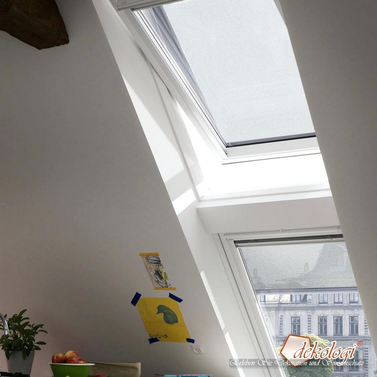 Hitzeschutz Fenster Original Velux Markise Solar Test Alufolie pertaining to dimensions 1000 X 1000