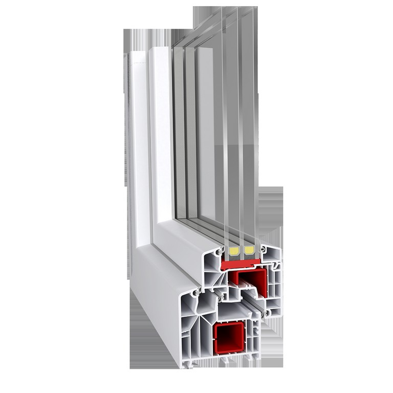 Pvc Fenster Aluplast Ideal 8000 Ekskluziv 4290 Tfl Plus Tren inside measurements 1500 X 1500