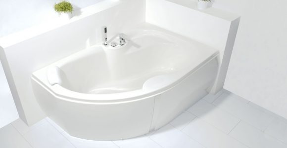 Bad Wellness24 Raumspar Badewanne 160 X 105 Schrze Whirlpool Made inside dimensions 1772 X 1234