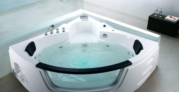 Badewanne Polieren Whirlpool Eckmodell Martinica Emaille Raue Acryl within dimensions 4111 X 3083
