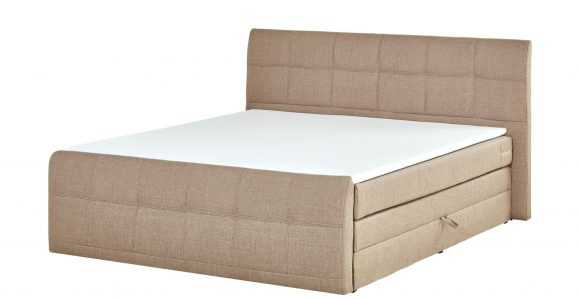 Boxspringbett 180×200 Mit Bettkasten Sand Mbel Kraft regarding sizing 2000 X 1222