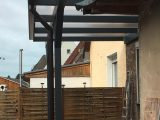 Ein Holz Terrassendach Der Marke Rexocomplete 4m X 25m In Der Farbe throughout dimensions 2200 X 3264