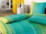 Estella Mako Satin Bettwsche Luigi 135×200 155×220 Cm In Trkis in measurements 1300 X 1839