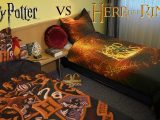 Harry Potter Vs Der Herr Der Ringe Epische Bettwsche within measurements 1280 X 720