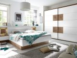 Schlafzimmer Weiss Wildeiche Mit Bettanlage Polpower Capri Wei intended for dimensions 2200 X 1351