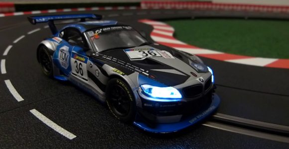 Slc Slotcar Light Controller Carrera Evolution Bmw Z4 Gt3 in dimensions 1280 X 720