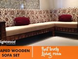 Sofa Set Designs L Shaped Wooden New Design Diamond Rightwood with regard to sizing 1280 X 720