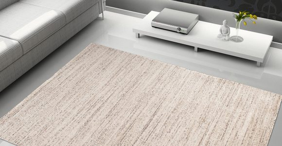 Tapiso Sari Teppich Kurzflor Modern Teppiche In Creme Meliert within proportions 1500 X 1500